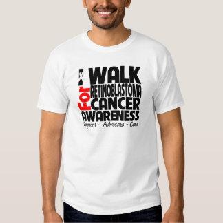 I Walk For Retinoblastoma Cancer Awareness Tee Shirt
