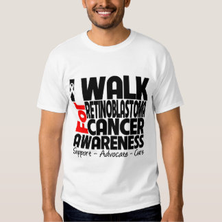 I Walk For Retinoblastoma Cancer Awareness Tees