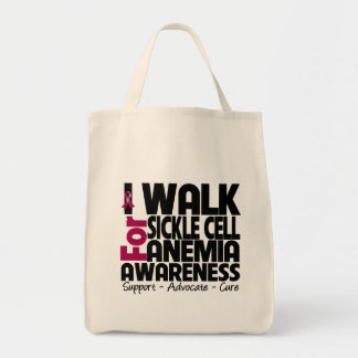 I Walk For Sickle Cell Anemia Awareness Bags