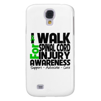 I Walk For Spinal Cord Injury Awareness Samsung Galaxy S4 Cases