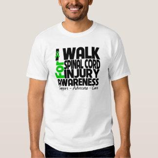 I Walk For Spinal Cord Injury Awareness Shirt