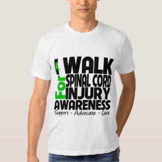 I Walk For Spinal Cord Injury Awareness T Shirt