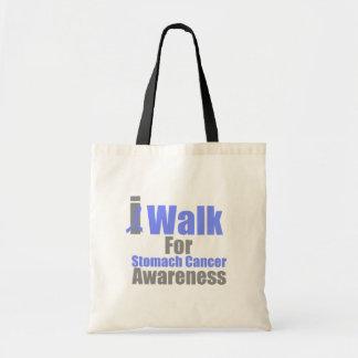 I Walk For Stomach Cancer Awareness Bag