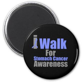 I Walk For Stomach Cancer Awareness Fridge Magnet