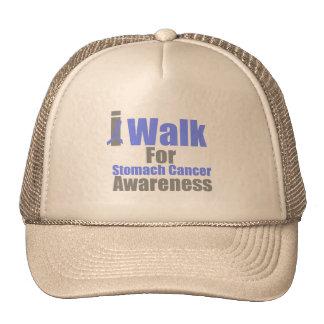 I Walk For Stomach Cancer Awareness Hat