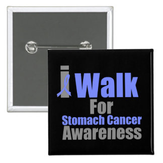 I Walk For Stomach Cancer Awareness Pins