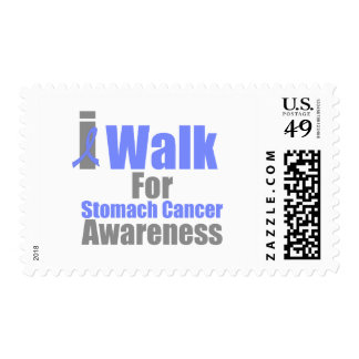 I Walk For Stomach Cancer Awareness Postage Stamps