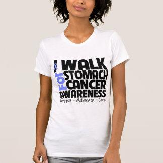 I Walk For Stomach Cancer Awareness Shirt