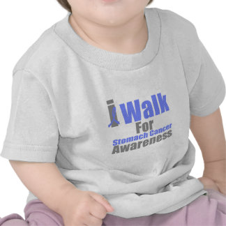 I Walk For Stomach Cancer Awareness Tee Shirts
