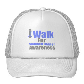 I Walk For Stomach Cancer Awareness Trucker Hat