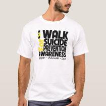 I Walk For Suicide Prevention Awareness T-Shirt