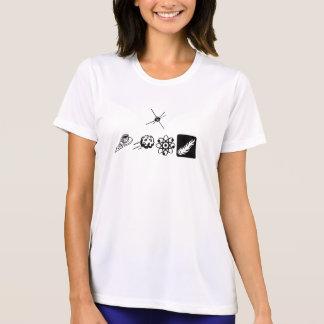(I Walk) Ladies Performance Micro-Fiber T-Shirt