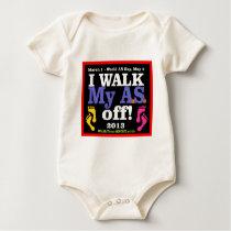I Walk My A.S. Off Baby Bodysuit