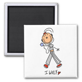 I Walk Tshirts and Gifts Magnet