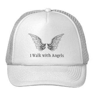 I Walk with Angels Trucker Style Cap Trucker Hat