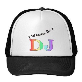 I Wanna Be A DJ Baseball Cap Trucker Hat