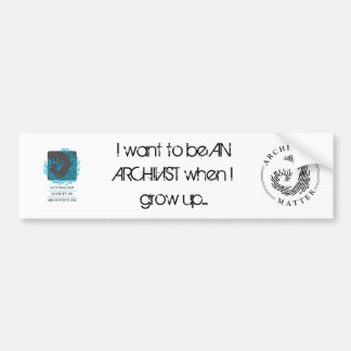 I wanna be.. bumper sticker