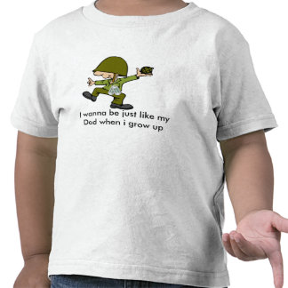 I wanna be just like my Dad when i g... T-shirts