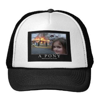 I WANNA PONY HATS