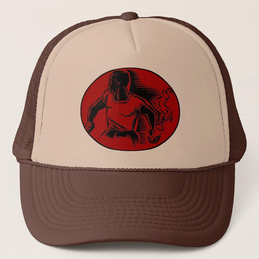 I wanna riot trucker hat