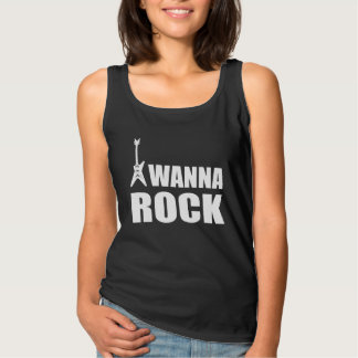 I Wanna Rock Tank Top