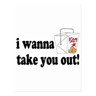 I Wanna Take You Out Postcard