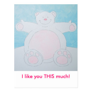 I want a cuddle! post cards