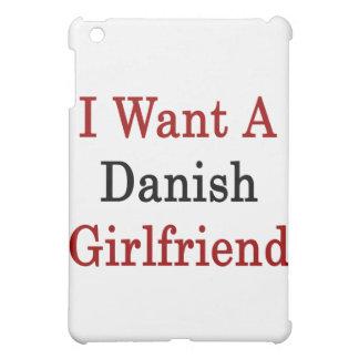 I Want A Danish Girlfriend Cover For The iPad Mini