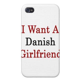 I Want A Danish Girlfriend iPhone 4/4S Case