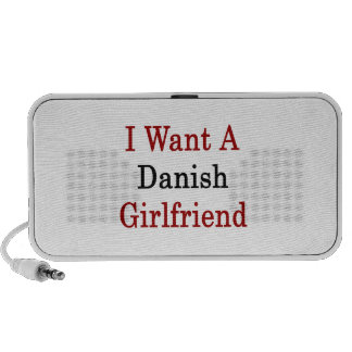 I Want A Danish Girlfriend Speaker System
