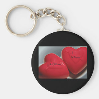 I Want A Divorce Hearts Keychain (Fit)