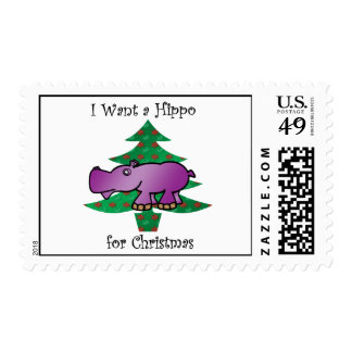 I want a hippo for christmas postage