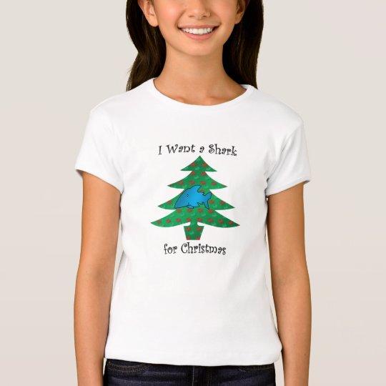 I want a shark for christmas T-Shirt