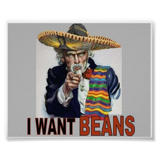 I Want Beans Poster