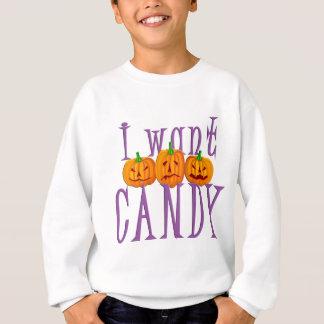 I Want Candy Jack O'Lantern Halloween