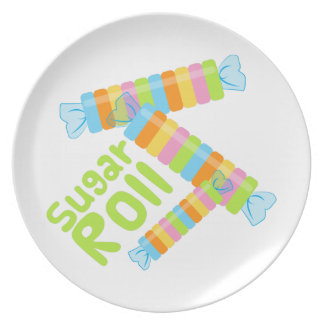 I Want Candy Plate