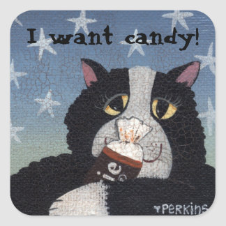 I want candy! sticker