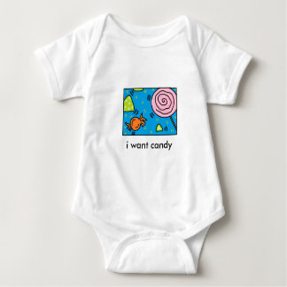 i want candy toddler baby bodysuit