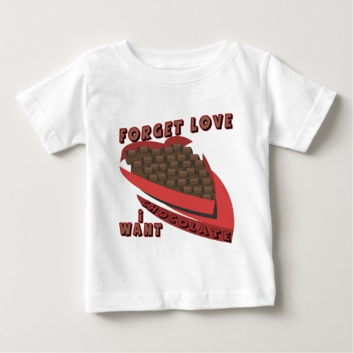 I Want Chocolate Valentines T-shirts and Gifts