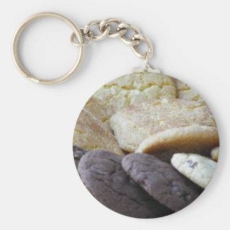 I Want Cookie! Basic Round Button Keychain