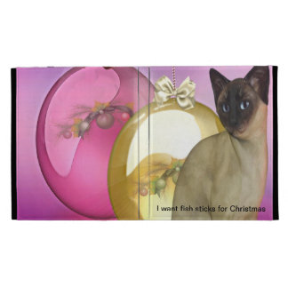 I Want Fish Sticks for Christmas iPad Folio Cases