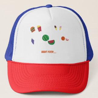 I want food hat