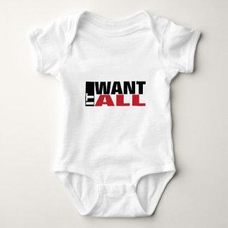 I Want It All Baby Bodysuit