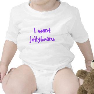 I want jellybeans baby bodysuit