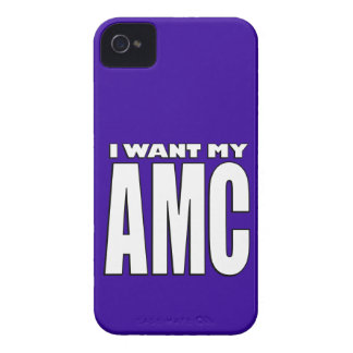 I Want My AMC Iphone Case Case-Mate iPhone 4 Cases