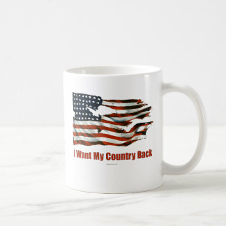 I Want My Country Back drinkware Coffee Mug