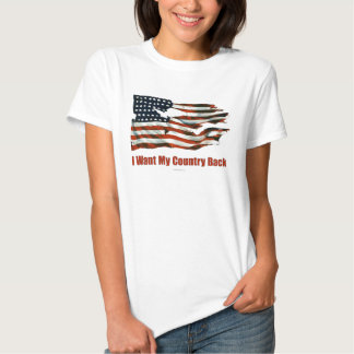 I Want My Country Back shirts