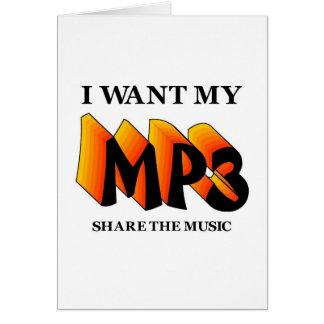 I Want My MP3 Card