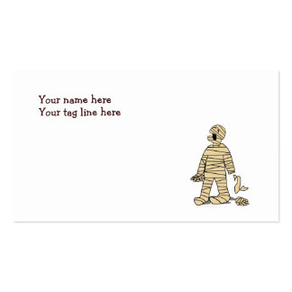 I Want My Mummy Funny Mummy Halloween Double-Sided Standard Business Cards (Pack Of 100)