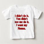 I want my nonna (Italian Grandmother) T Shirt